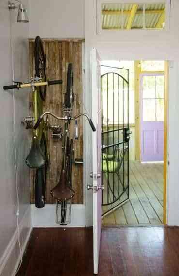 guardar la bicicleta en casa V