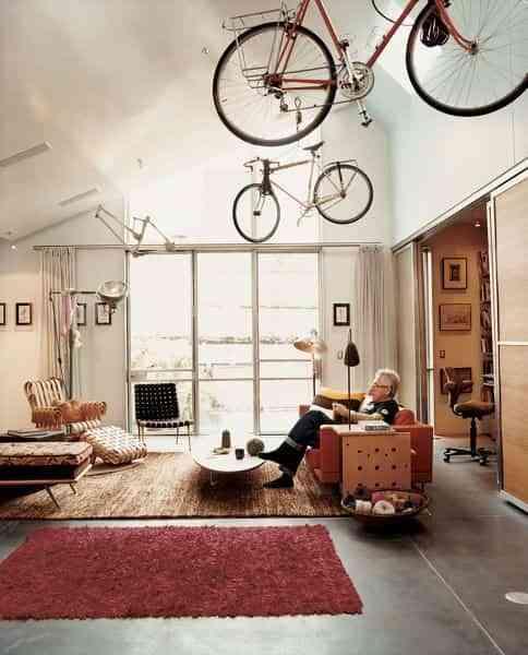 guardar la bicicleta en casa VI