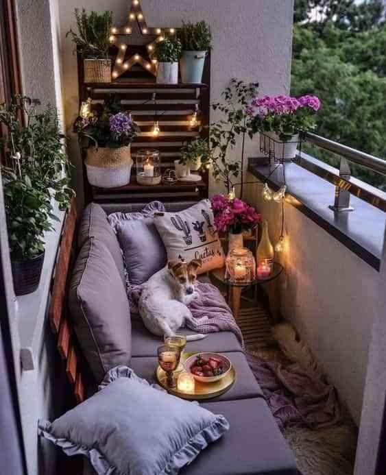 ideas para decorar el balcon III