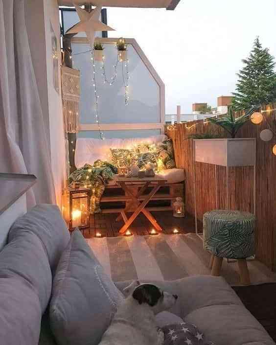 ideas para decorar el balcon VIII