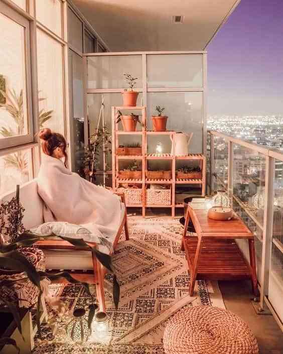 ideas para decorar el balcon VI