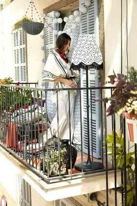 ideas para decorar el balcon