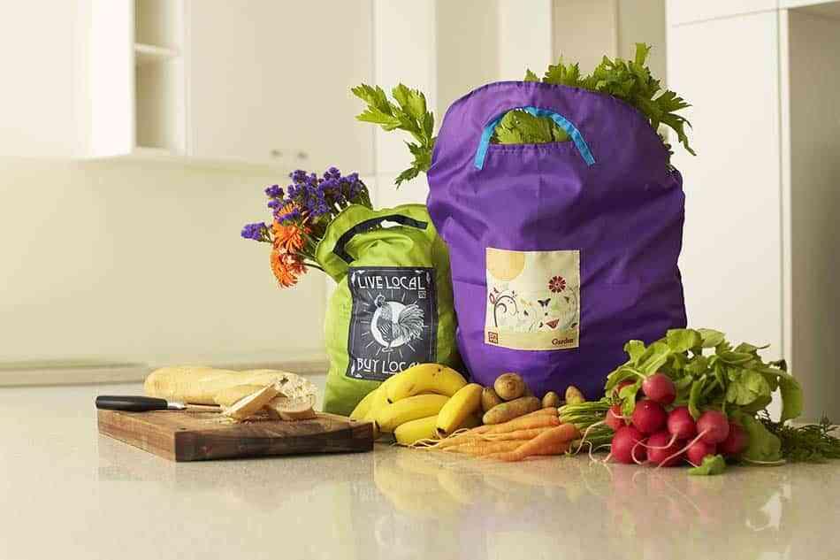 hacer la compra, bolsas de la compra reutilizables