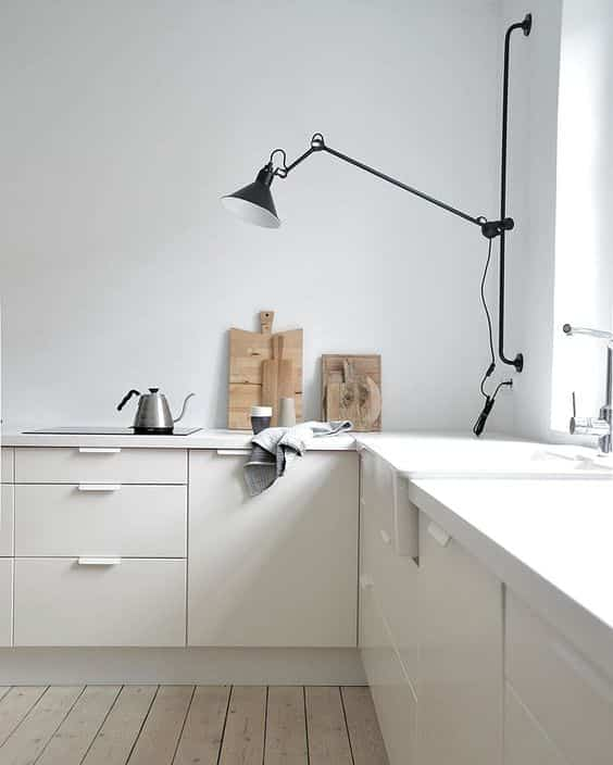 iluminar la encimera de la cocina aplique