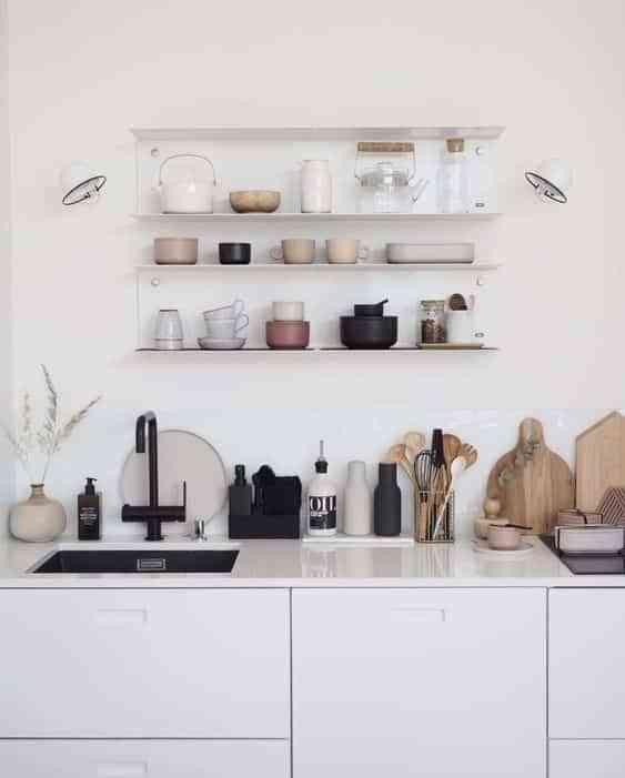 iluminar la encimera de la cocina dos apliques