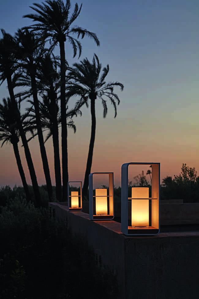luces de verano, iluminación de exterior