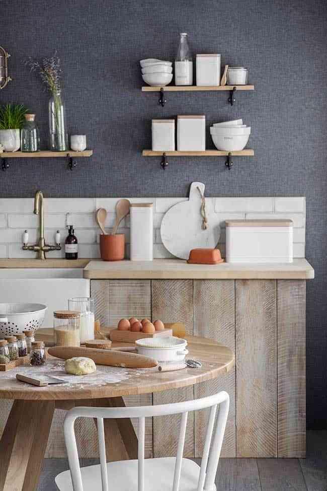 materiales de muebles de cocina