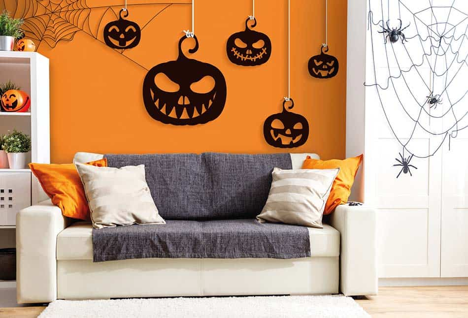 Decorar la casa en Halloween: 7 ideas fáciles