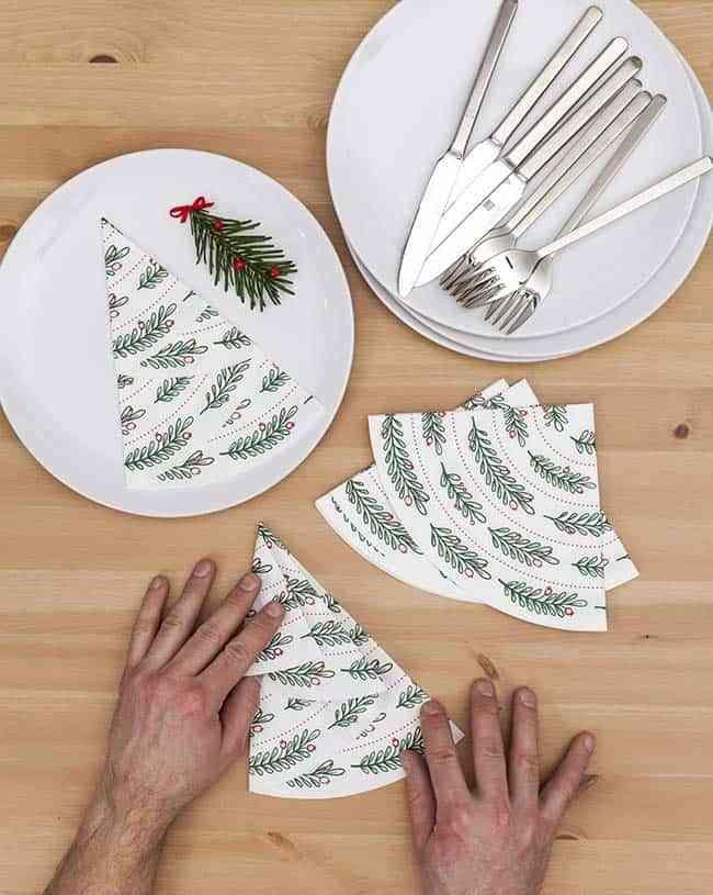 ideas diferentes para decorar en navidad