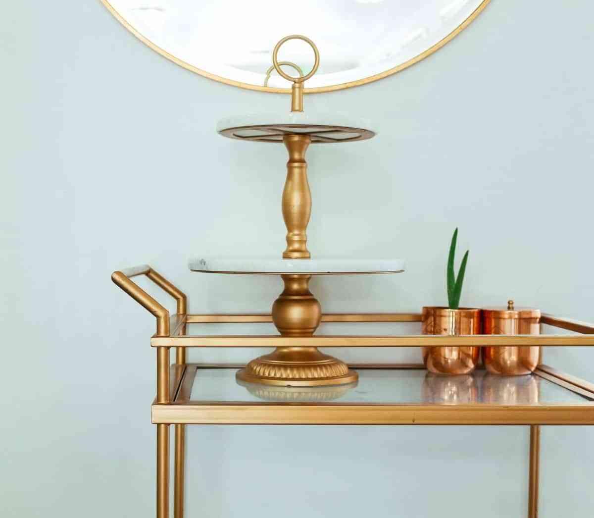 color cobre en la decoracion