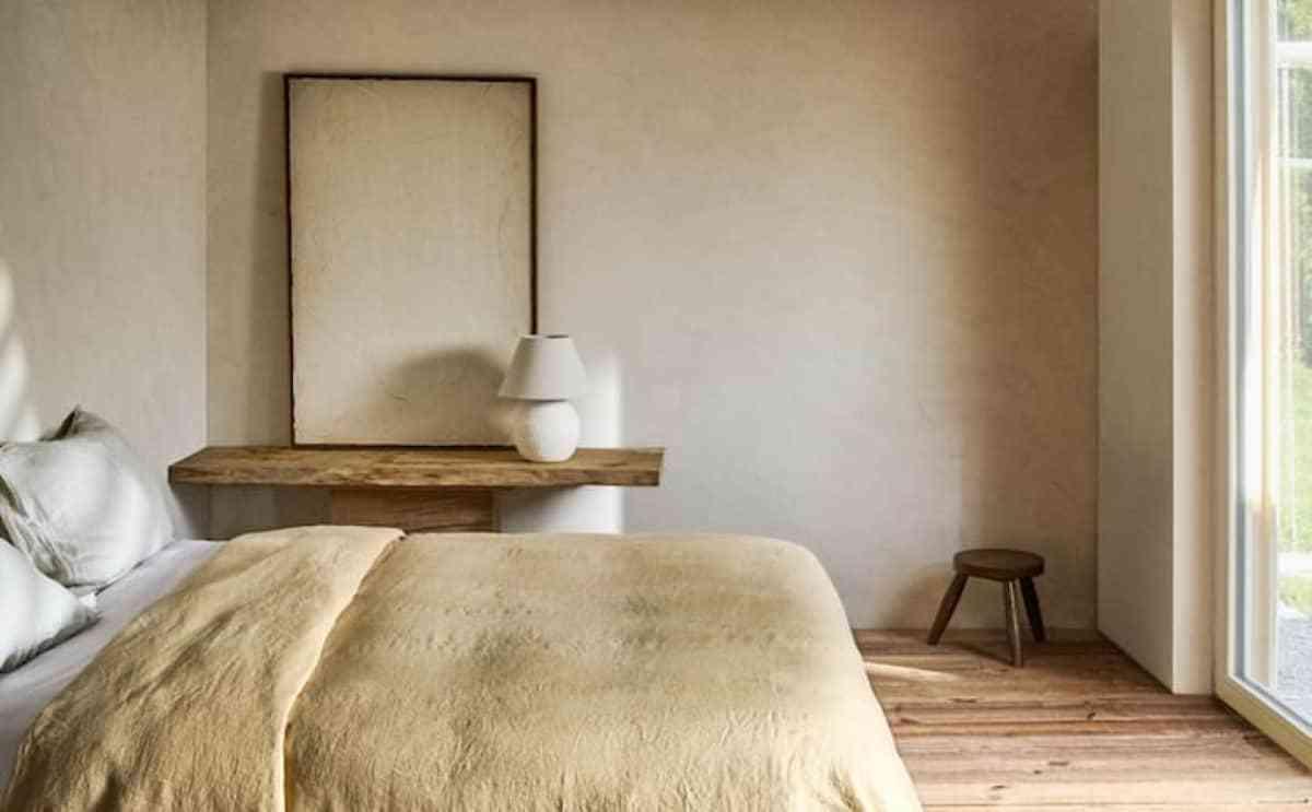 funda lino para dormitorio