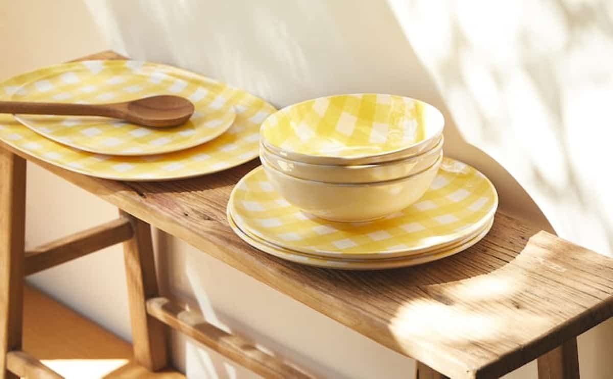 vajillas picnic zara home