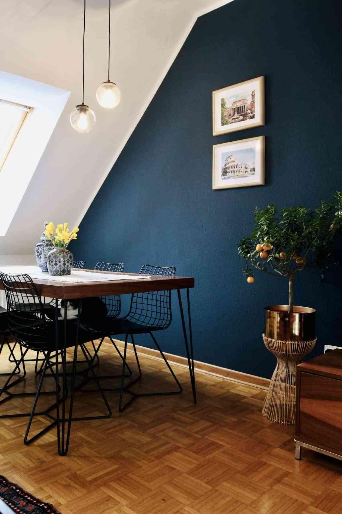 classic blue para las paredes