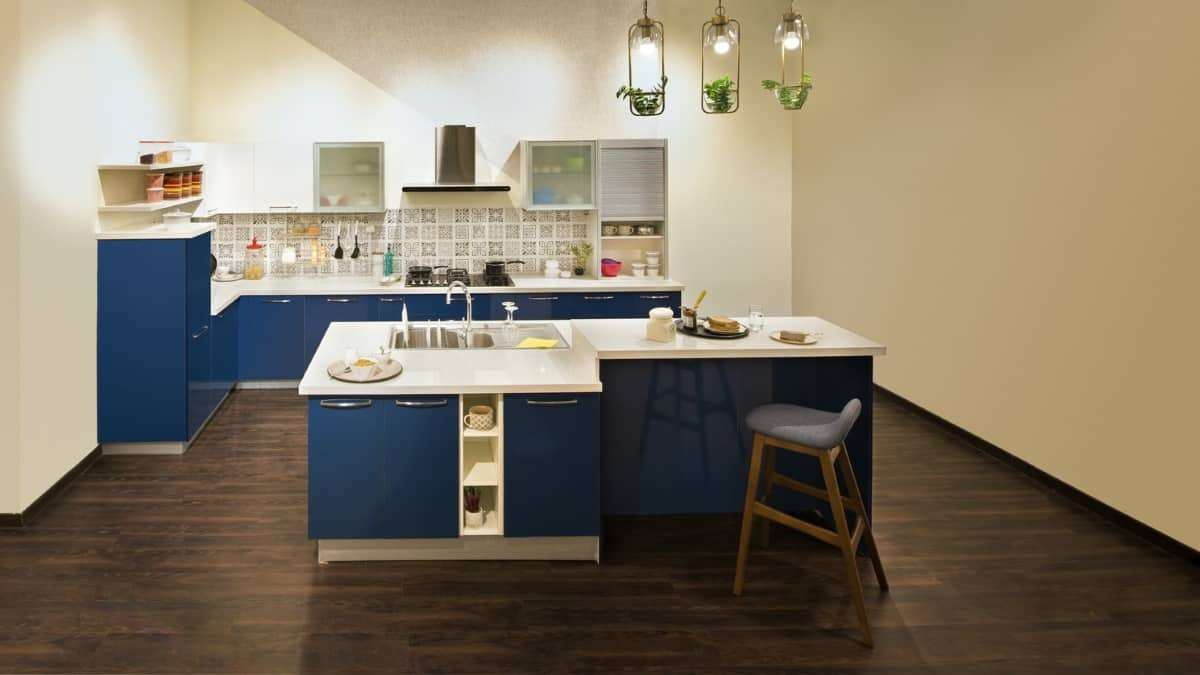 pequenas cocinas bicolor