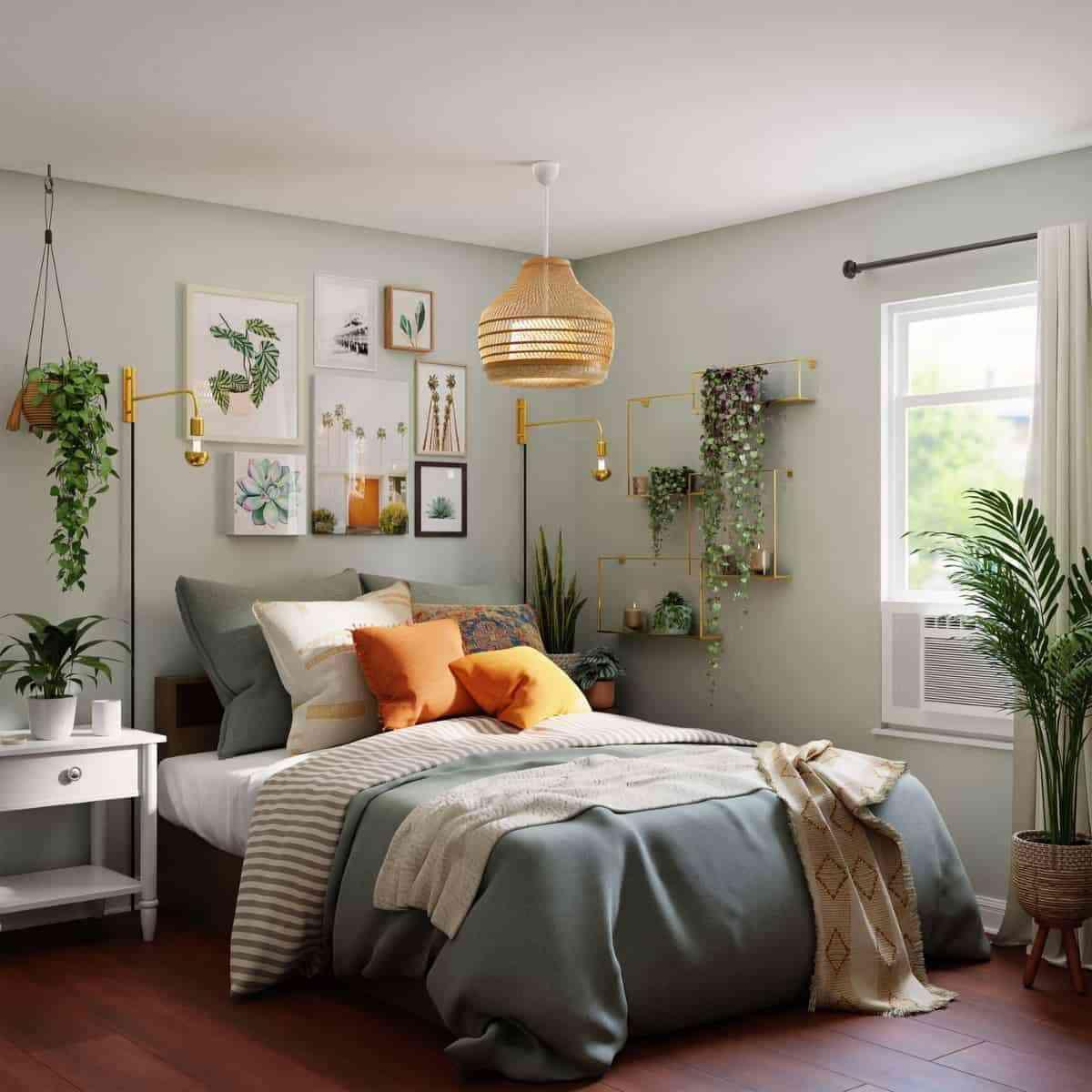 dormitorio interiorismo vegetal