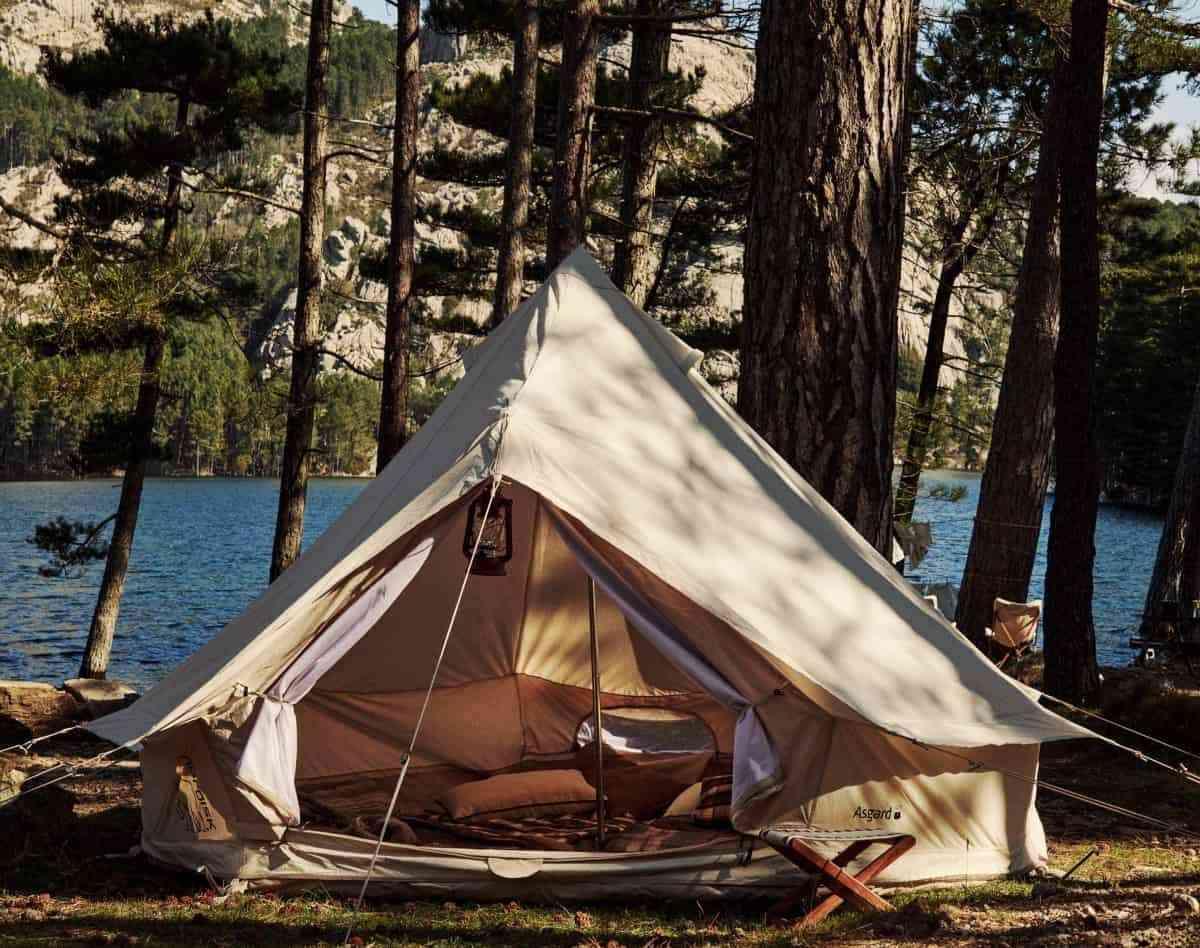 tienda de campana para acampar al aire libre zara home