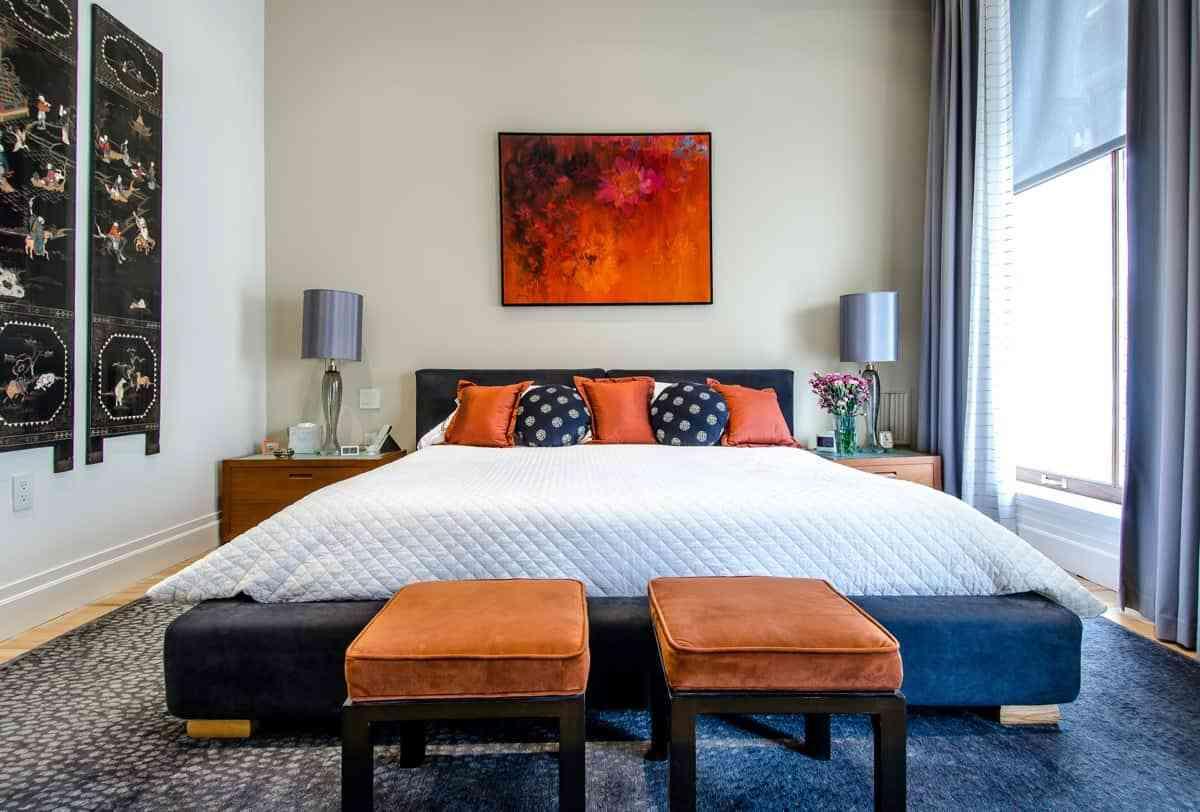 decorar el dormitorio con amor