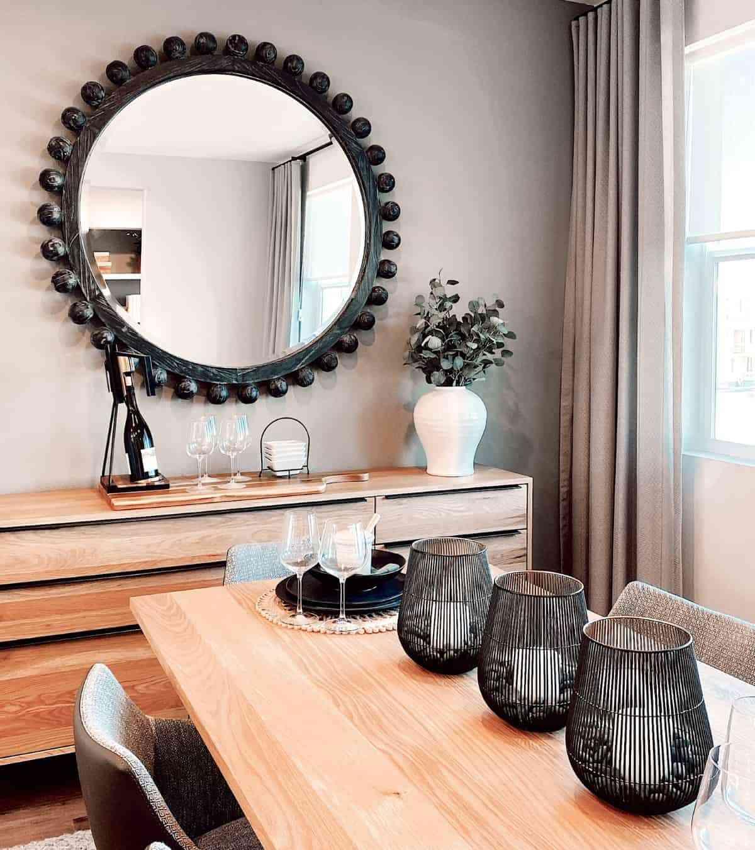 decoracion con espejos grandes
