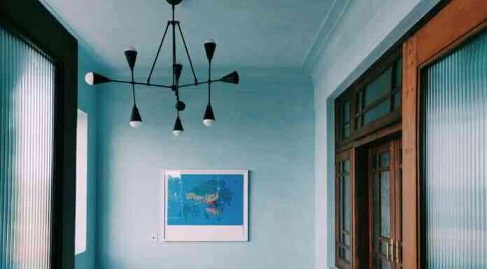 decoracion azul celeste
