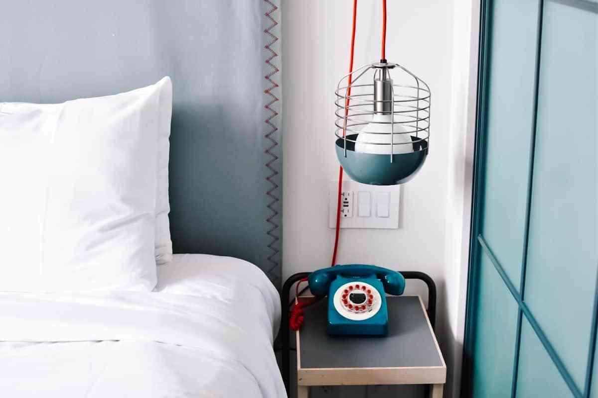 esquema de color en el dormitorio