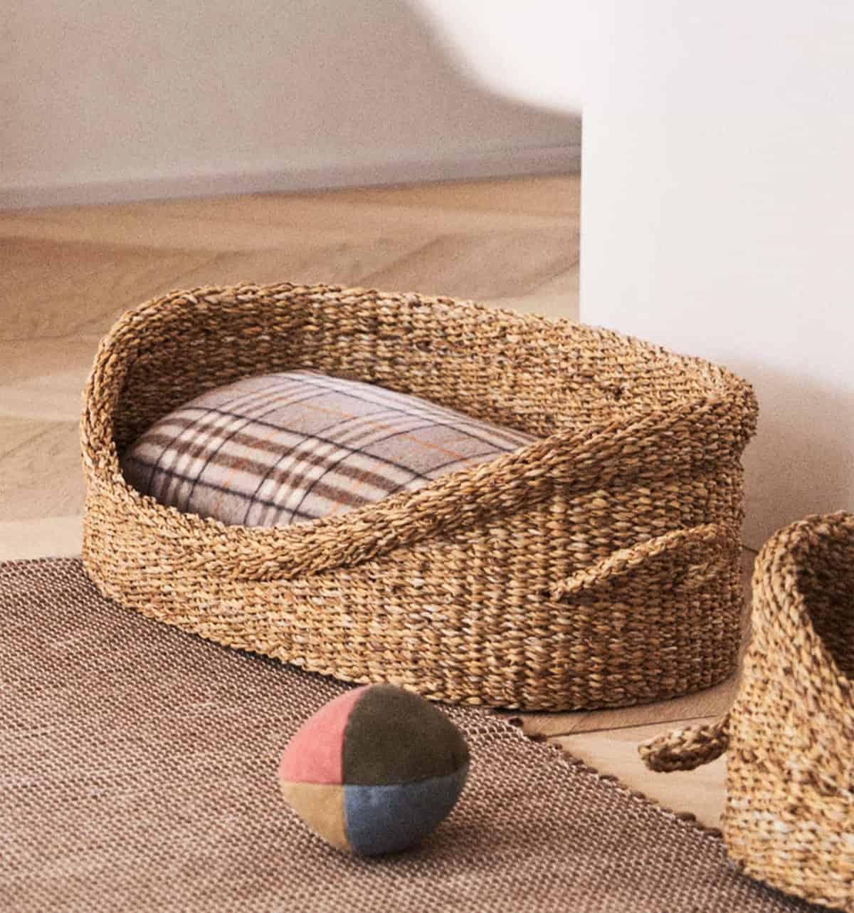 cestas de zara home para mascotas