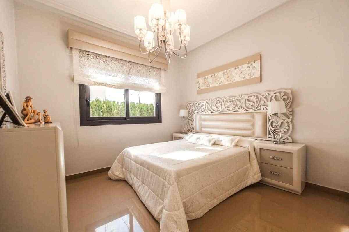 Combinar color marrón para el dormitorio