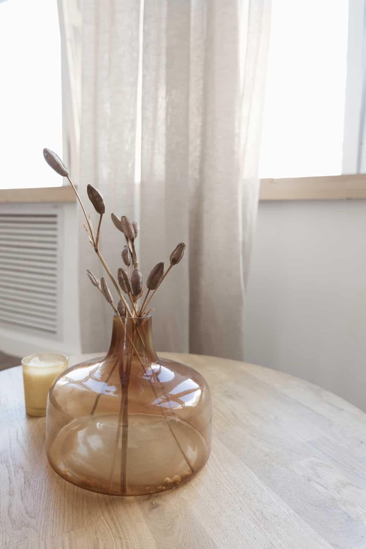 jarrones para decorar comedor