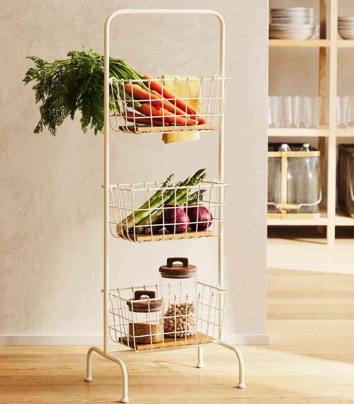 almacenaje imprescindibles en la cocina