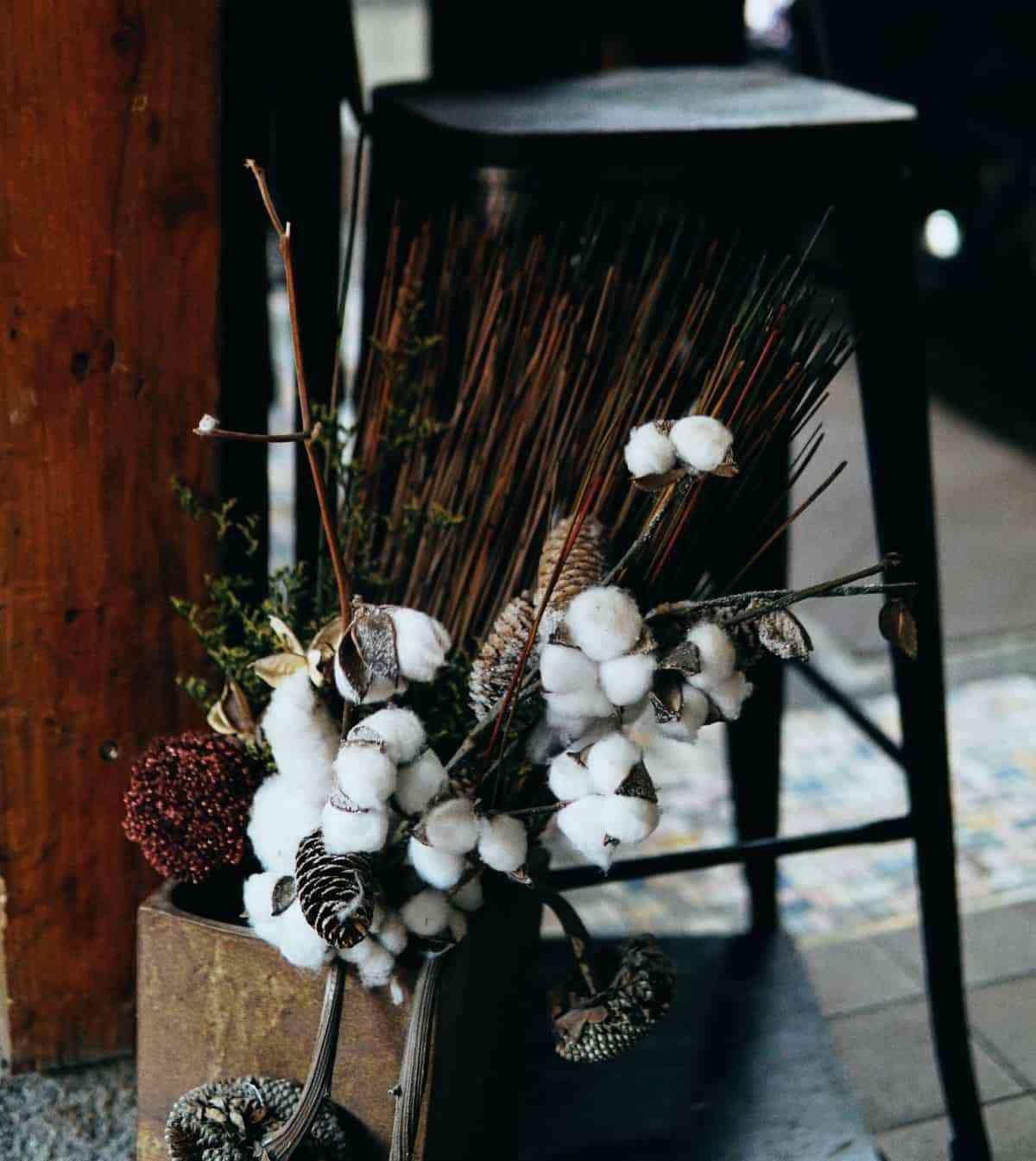 flores secas para decorarcion de otono