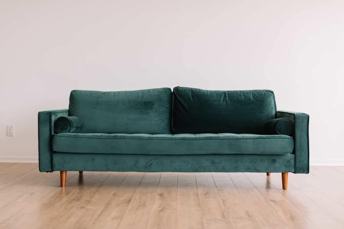 comprar un sofa verde