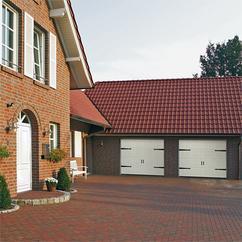 Puertas de garaje Hörman rústica 2