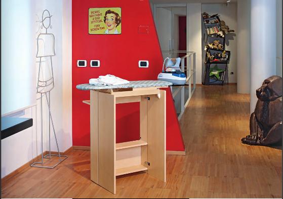 Muebles con tabla de planchar incorporada dos en uno - Mueble plancha leroy merlin ...