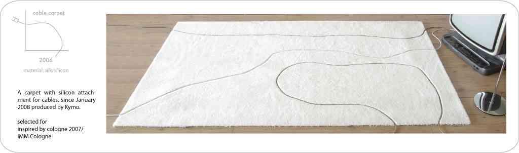 alfombra cables