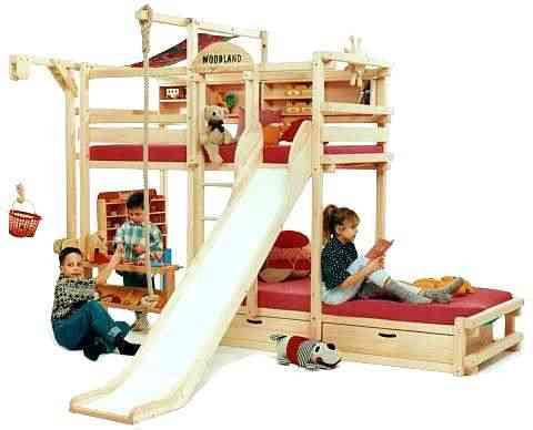 habitación infantil con juegos