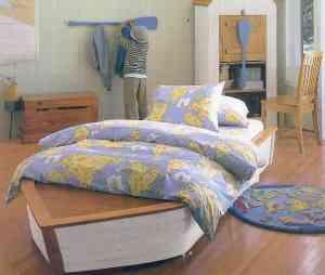 Para los niños: camas con forma de barco o casita 1