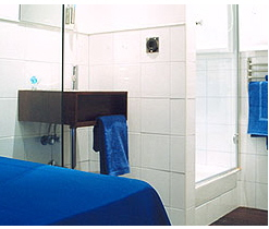 habitación-azul