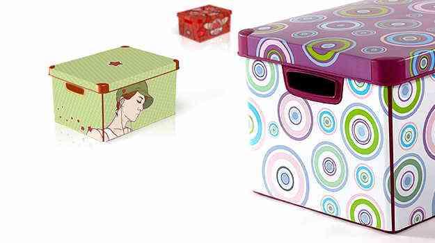 Como elaborar cajas decorativas imagui for Cajas decorativas para almacenar