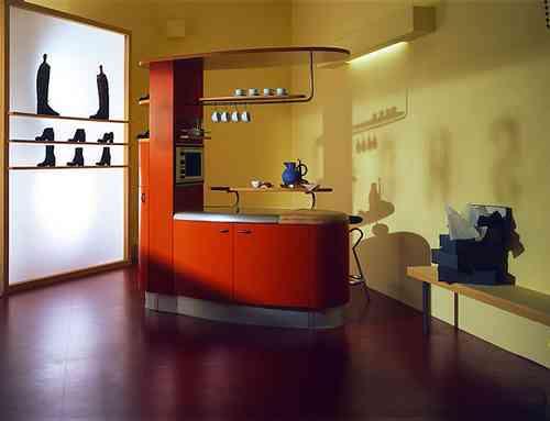 Una cocina americana compacta - Decoración de Interiores | Opendeco