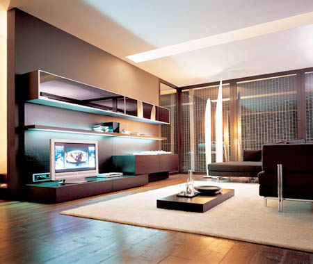 Muebles bajos para el sal n decoraci n de interiores - Muebles bajos para salon ...