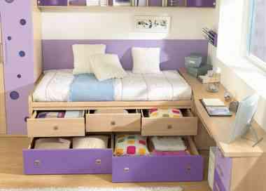 Soluciones para organizar dormitorios infantiles for Como decorar un cuarto infantil