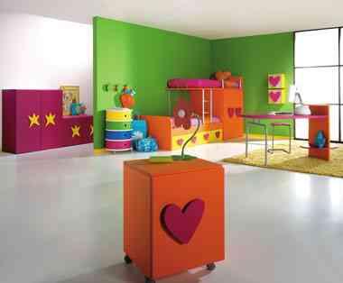 Dormitorios infantiles muy especiales decoraci n de - Decoracion de interiores infantil ...