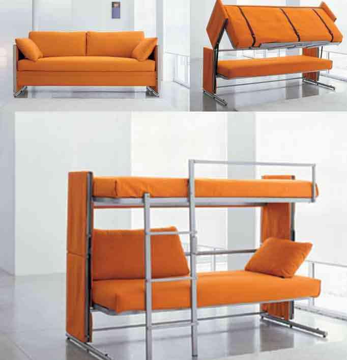 Soluciones para espacios peque os decoraci n de - Soluciones para dormitorios pequenos ...