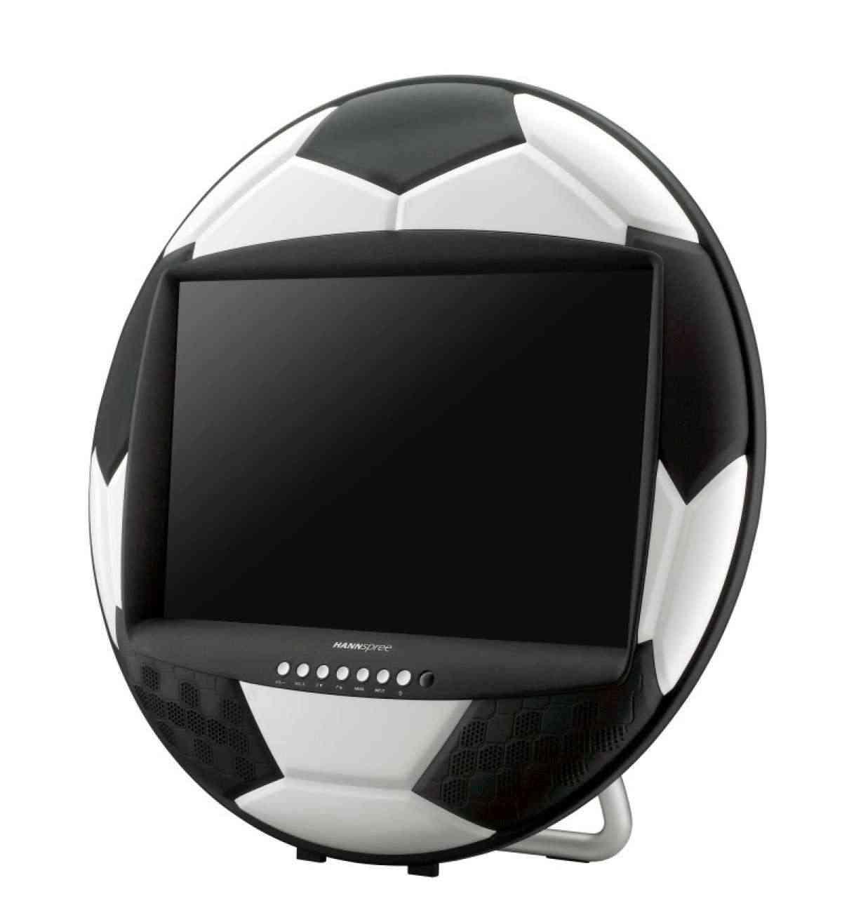 televisores para niños pelota de futbol