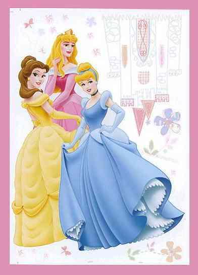 princesas-disney-pegatina