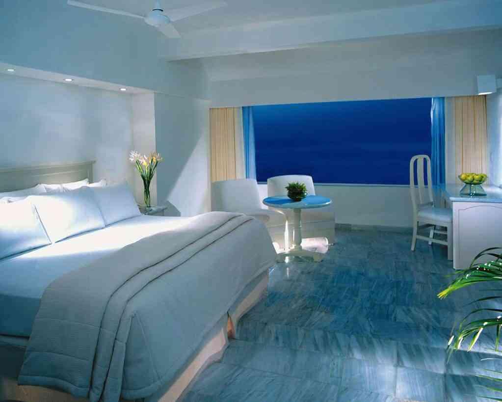 Tipos de pintura para pintar las paredes - Habitación y paredes blancas