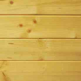 El friso en las paredes - Friso madera natural