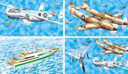 papel-pintado-barcos-aviones
