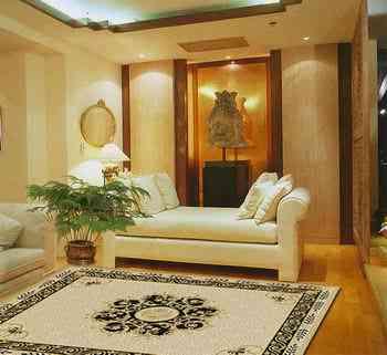 Tres alfombras para tres estilos decoraci n de - Alfombras rusticas ...