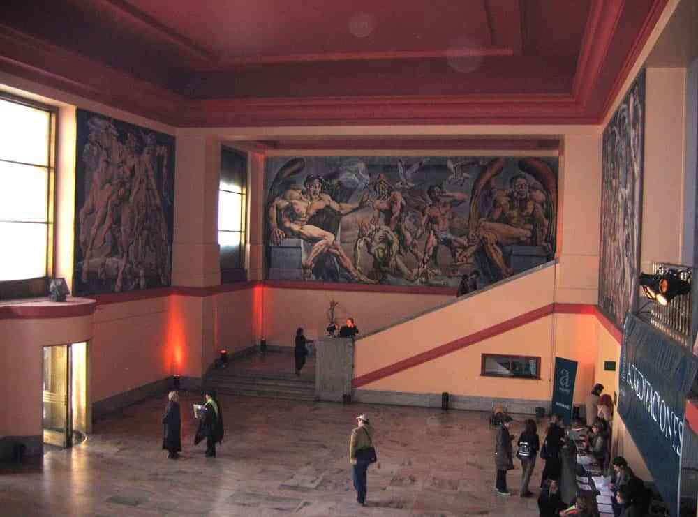 Tipos de murales en paredes - Mural Vitreaux