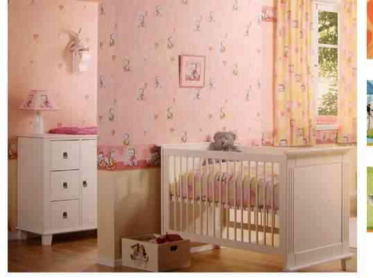 Cuartos decorados para bebé niña - Imagui